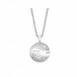 Joop Damen Kette 2023509 Halskette mit Anhänger Silber Halsschmuck