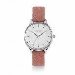 Joop Damenuhr 2024259 Damen Uhr Armbanduhr Silber Leder