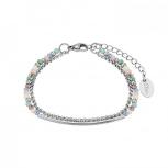 s.Oliver Damen Armband 2024281 Damenarmband Armkette Silber Armkettchen