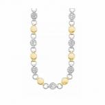 s.Oliver Damen Kette 2026171 Halskette IP Gold Silber Halsschmuck