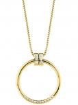 s.Oliver Damen Kette 2027628 IP Gold Halskette72 cm Halsschmuck