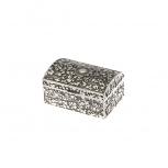 2251-ver Schmuckdose 5 x 8 Silber Dose Schmuckkästchen Schatztruhe Geschenkbox
