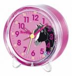 Scout Wecker 280001050 Pferd Blumen Kinderwecker Pony Pink