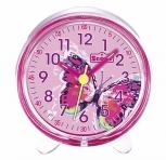 Scout Wecker 280001051 Schmetterling Kinderwecker Pink LED - Beleuchtung