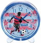 Scout Wecker 280001052 Favorit Fußballspieler Fussball Blau Kinderwecker