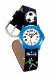 Scout Kinderuhr 280305000 Crystal Kinder Uhr Jungenuhr Lernuhr Fußball