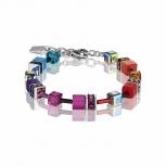 COEUR-DE-LION Damen Armband 2838301520 Armkette Multicolor Rainbow Schmuck