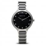 Bering Damenuhr 30434-742 Ceramic Uhr Silber Armbanduhr