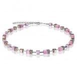 COEUR-DE-LION Damen Kette 4016101920 Halskette hellrosa Schmuckkette