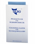 Silbo Schmuckpflege 4042698004584 Silber Hochglanztuch Anlaufschutz Politur blau