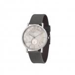 Kerbholz Unisex 4251240404257 FRITZ WEIßER MARMOR - ASPHALTGRAU  Armbanduhr