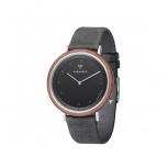 Kerbholz Herrenuhr 4251240407418 Slim Walnuss Holz Holzuhr Uhr Armbanduhr