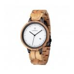 Kerbholz Herrenuhr 4251240409894 Lamprecht Date Olive Holz Holzuhr Uhr Armbanduhr