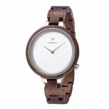 Kerbholz Damenuhr 4251240409962 Hiinze Holz Holzuhr Uhr Armbanduhr