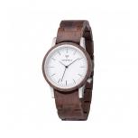 Kerbholz Damenuhr 4251240410005 Wilma Holz Holzuhr Uhr WALNUT Armbanduhr
