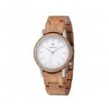 Kerbholz Damenuhr 4251240410012 Wilma Holz Holzuhr Uhr WALNUT Armbanduhr