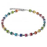 COEUR-DE-LION Damen Kette 4409-10-1500 Halskette classic Polaris Strass multicolor