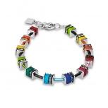 COEUR-DE-LION Damen Armband 4409301500 Armkette classic Polaris Strass multicolor