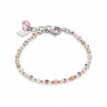 COEUR-DE-LION Damen Armband 4951301920 Armkette Kristalle hellrosa