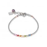 COEUR-DE-LION Damen Armband 4973301500 Armkette Coins Kristalle Multicolor