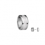 Bering Damenring Silber 2-teilig Set Arctic Symphony Collection Gr.55 G1