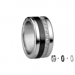Bering Damenring Silber Ring 3-teilig Set Arctic Symphony Collection  Gr.60  M3