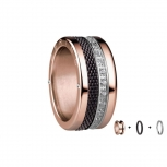 Bering Damenring Rose Ring 3-teilig Set Arctic Symphony Collection Gr.60 B3