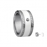 Bering Damenring Silber Ring 2-teilig Set Arctic Symphony Collection Gr.55 F1