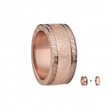 Bering Damenring Rose Ring 2-teilig Set Arctic Symphony Collection Gr.55 C1