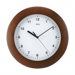 Look Wanduhr 5904-1 AMS Funkuhr Wohnzimmer Uhr Holz Büro Funkwanduhr