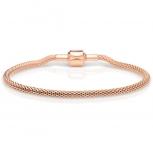 Bering Damen Armband 613-30-200 Armkette Schmuckarmband Arctic Rosé Gold