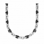 s.Oliver Herren Kette 9071517 Halskette Silber Schmuckkette Gliederkette