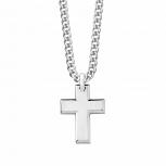 s.Oliver Herren Kette 9076420 Silber Halskette Kreuz Schmuckkette 50 cm