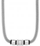 s.Oliver Damen Kette 9240128 Damenkette Silber Halskette