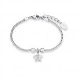 s.Oliver Damen Armband 9240456 Silber Stern Armkette Schmuckarmband