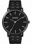 Nixon Herrenuhr A1057-756 Porter All Black schwarz Uhr