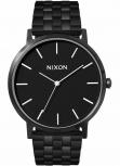 Nixon Herrenuhr A1057-756 Porter All Black schwarz Uhr