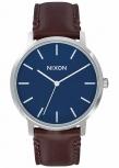 Nixon Herrenuhr A1058-879 Porter Leather Navy Brown Leder Uhr