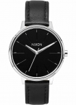 Nixon Damenuhr A108-000 Kensington Leather Black Uhr Vintage-Look