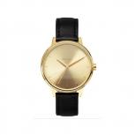 Nixon Damenuhr A108-501 Kensington Leather Gold Uhr Vintage-Look