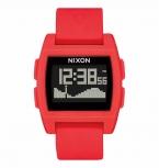 Nixon Herrenuhr A1104-200 Digital Uhr Rot Gezeiten Armbanduhr Base Tide