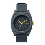 Nixon Unisex Uhr A119-1244 Time Teller P Matte Steel Gray Armbanduhr Damen Herren