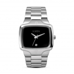 Nixon Herrenuhr A140-000-00 Player Black Uhr Armbanduhr Brillant