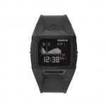 Nixon Herrenuhr A289-000 Lodown II 43 mm Black Gezeiten Digital Uhr LCD