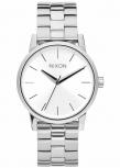 Nixon Damenuhr A361-1920 Small Kensington All Silver Silber Uhr