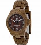 MAREA Herrenuhr B35295-6 WOOD LOOK Holz Uhr Damenuhr Holzuhr