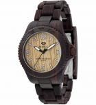 MAREA Herrenuhr B35295-7 WOOD LOOK Holz Uhr Damenuhr Holzuhr