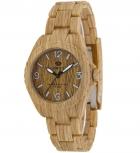 MAREA Herrenuhr B35297-2 WOOD LOOK Holz Uhr Damenuhr Holzuhr
