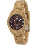 MAREA Herrenuhr B35297-3 WOOD LOOK Holz Uhr Damenuhr Holzuhr