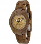 MAREA Herrenuhr B35297-4 WOOD LOOK Holz Uhr Damenuhr Holzuhr